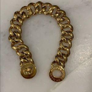 Marc Jacobs gold link bracelet